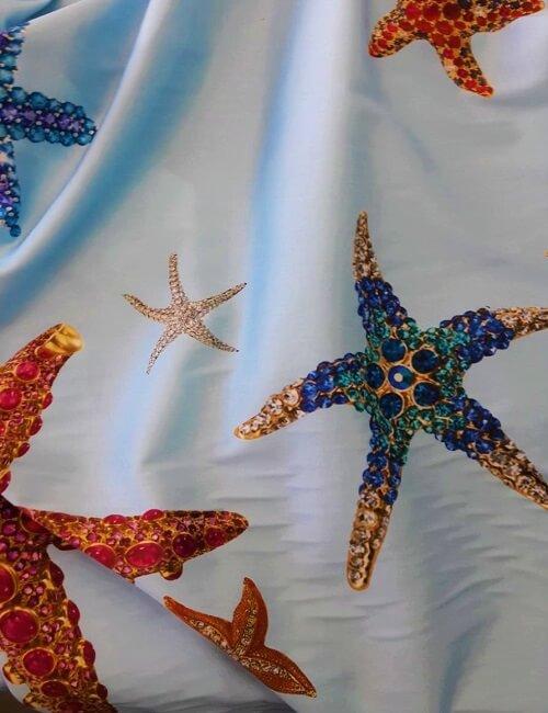 rasatello fantasia stelle marine