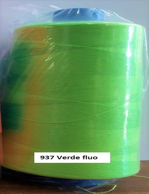 cucitrini tre stelle tiquattro 5000 mt colore verde fluo