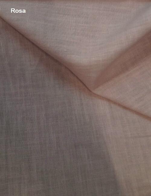 tela di lino rosa