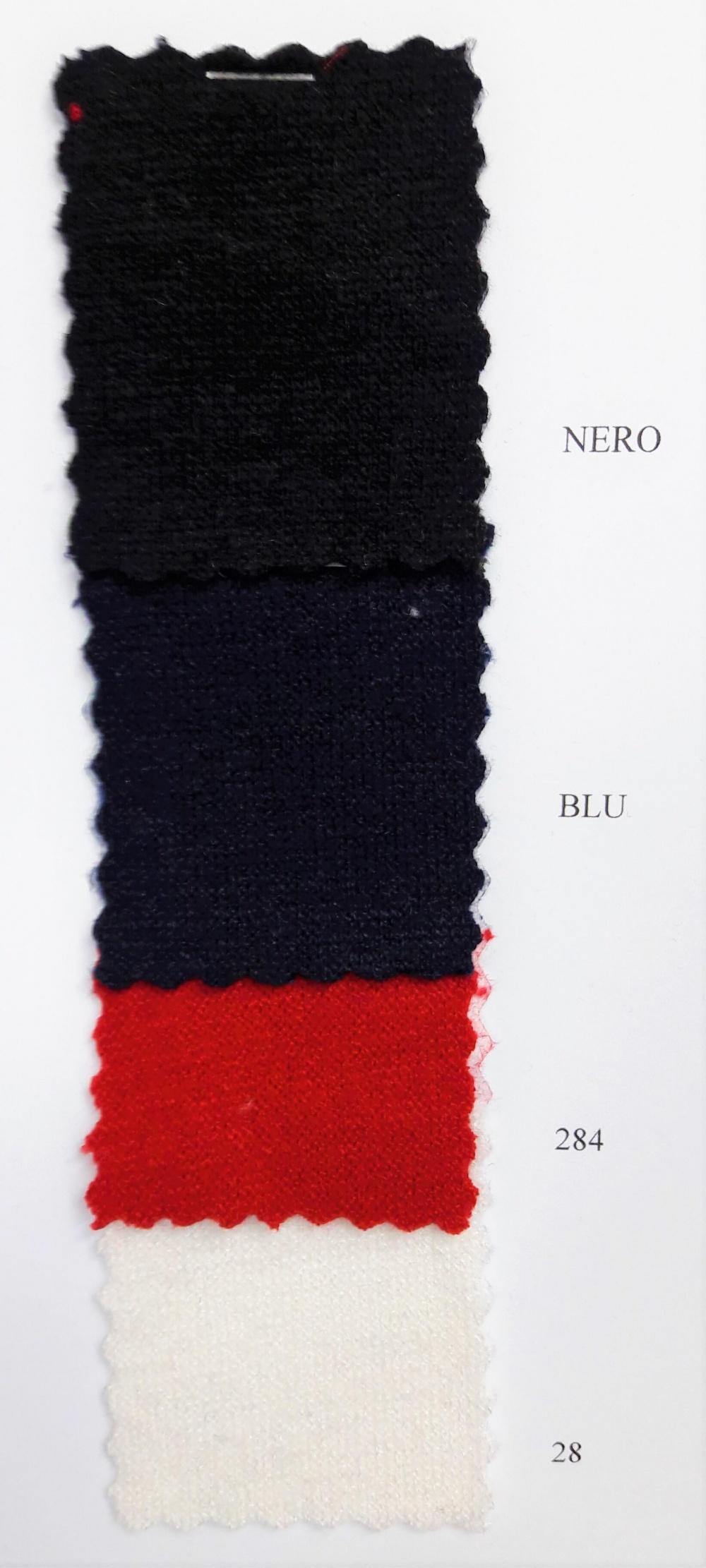Maglia rosso, nero, blu, bianco