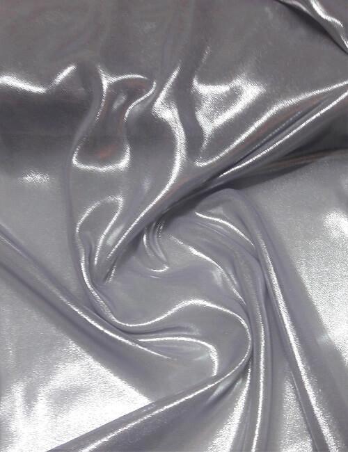 chiffon spalmato cangiante argento