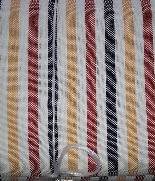 Strofinaccio rigato multicolor