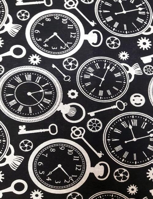cotone disegno orologi