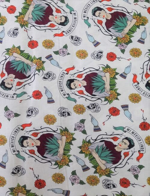 mussola cotone 100% Frida