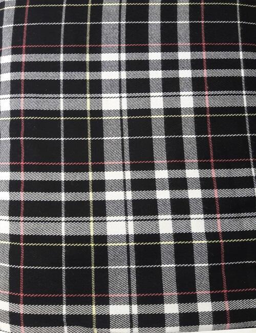 scozzese bianco e nero