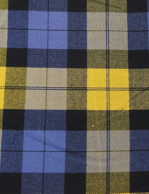 scozzese giallo viola