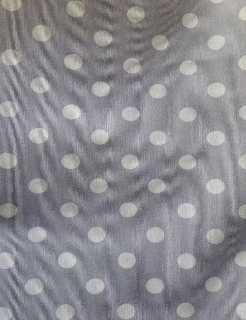 loneta pois fondo grigio